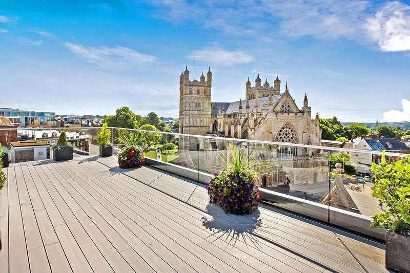 3 Bedrooms Flat for sale in 23 Cathedral Yard, Exeter, Devon
