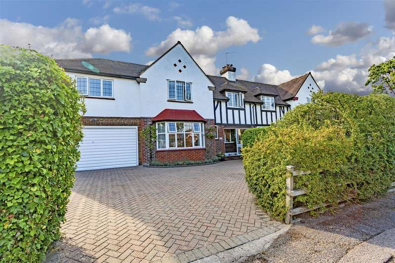 5 Bedrooms Semi Detached House for sale in Reigate Road, Epsom