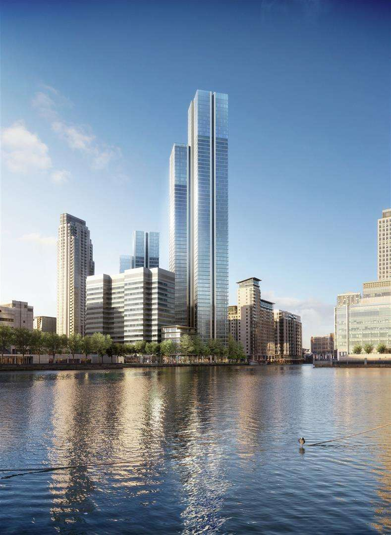 3 Bedrooms Flat for sale in South Quay Plaza, 185 - 189 Marsh Wall, E14