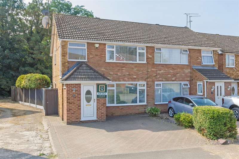 3 Bedrooms Semi Detached House for sale in Lydbrook Close, Sittingbourne