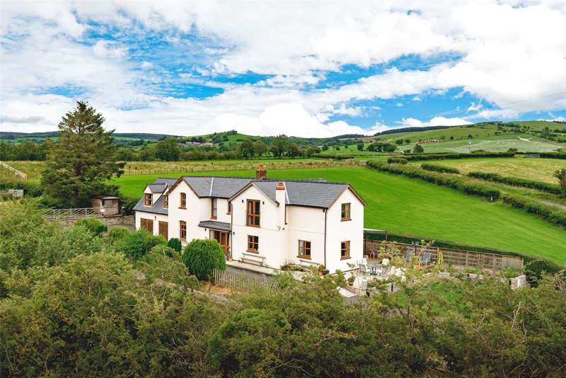 7 Bedrooms Detached House for sale in Talerddig, Llanbrynmair, Powys, SY19 7AL