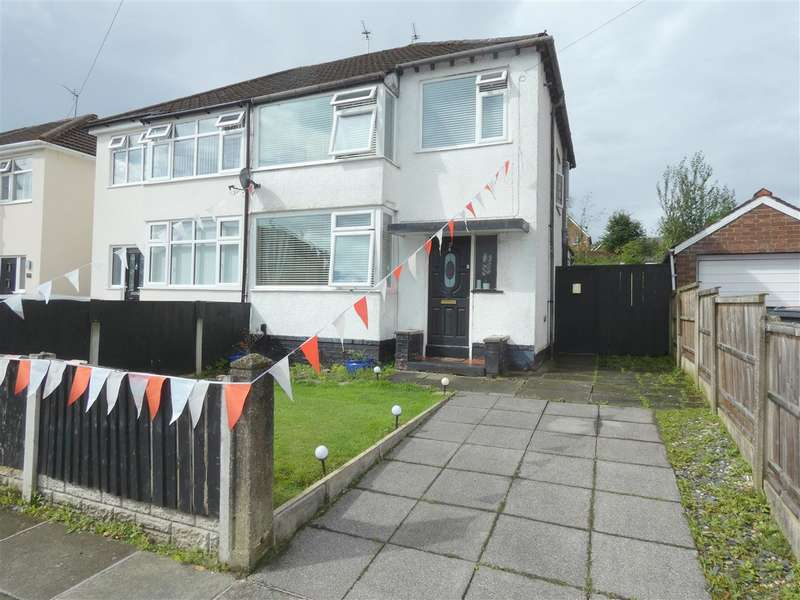 3 Bedrooms Semi Detached House for sale in Westfield Avenue, Huyton, Liverpool