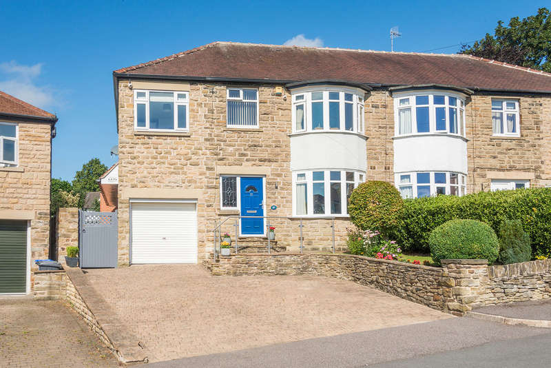 5 Bedrooms Semi Detached House for sale in Beauchief Rise, Beauchief
