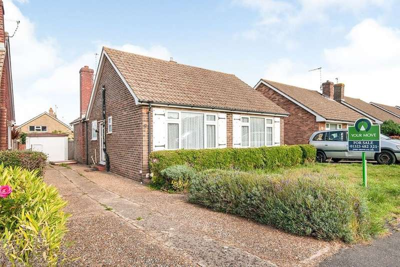 2 Bedrooms Detached Bungalow for sale in Cornmill Gardens, Polegate, BN26