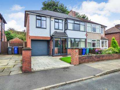 4 Bedrooms Semi Detached House for sale in Westcombe Drive, Brandlesholme, Bury, Greater Manchester, BL8