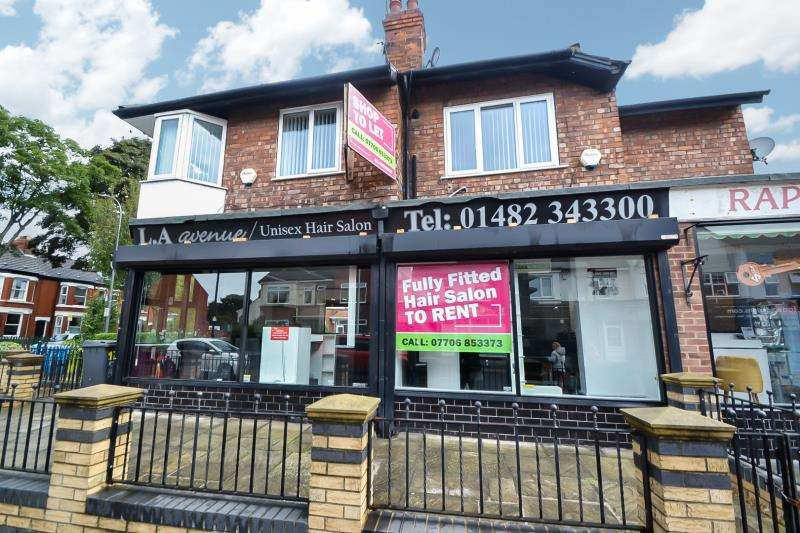 Retail Property (high Street) Commercial for rent in Chanterlands Avenue, Hull
