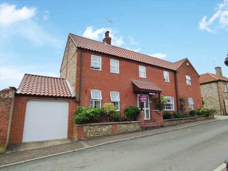 4 Bedrooms Detached House for sale in Emmington House, Bailey Street, Castle Acre, Norfolk