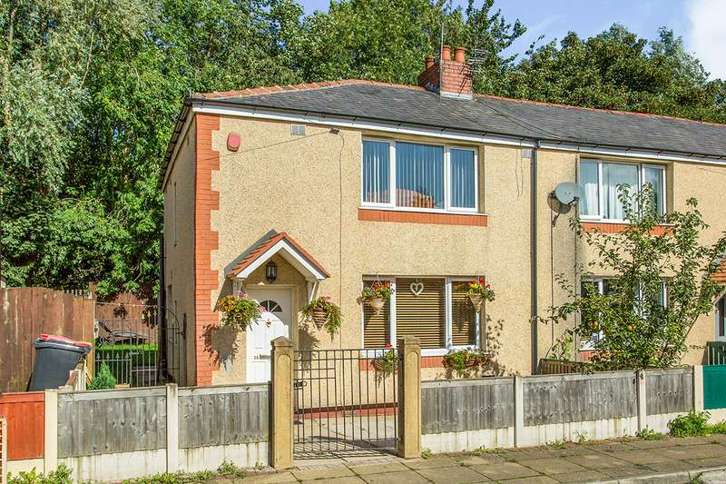 3 Bedrooms Semi Detached House for sale in Cowley Road, Ribbleton, Preston, Lancashire, PR2
