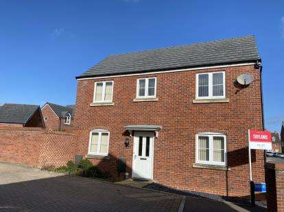 3 Bedrooms Detached House for sale in Wainfleet Avenue Kingsway, Quedgeley, Gloucester, Gloucestershire