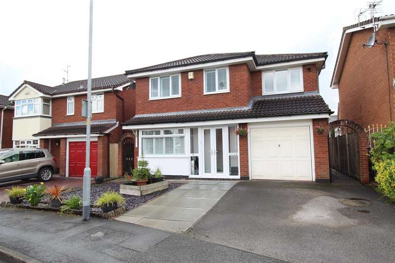 4 Bedrooms Detached House for sale in High Beeches Crescent, Ashton-In-Makerfield, Wigan