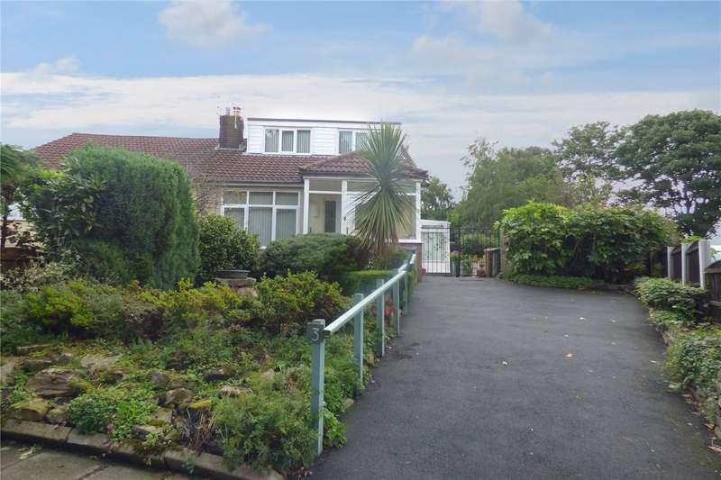 2 Bedrooms Semi Detached Bungalow for sale in Gloucester Road, Alkrington, Middleton, Manchester, M24