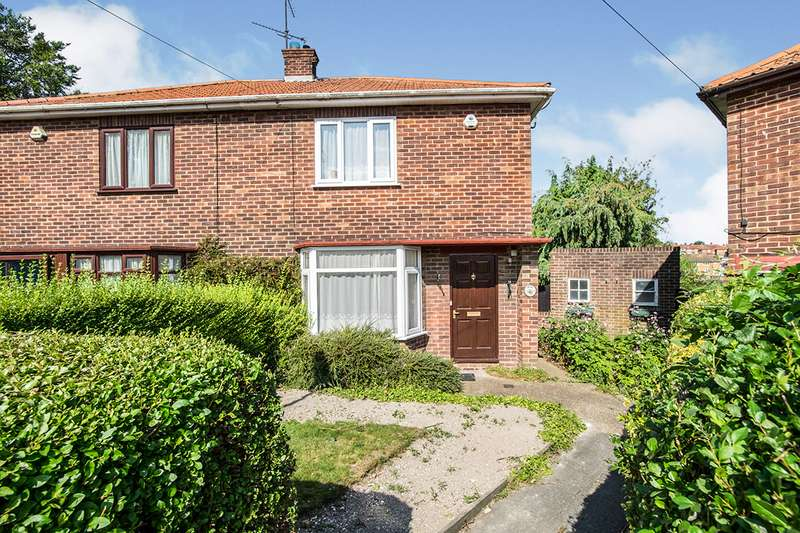 2 Bedrooms Semi Detached House for sale in Green Close, Rochester, Kent, ME1