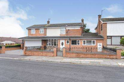 5 Bedrooms Link Detached House for sale in Blackrod Drive, Seddons Farm, Bury, Greater Manchester, BL8