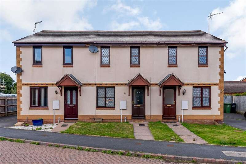 2 Bedrooms Terraced House for sale in Hever Road, Hereford, HR2 6EW