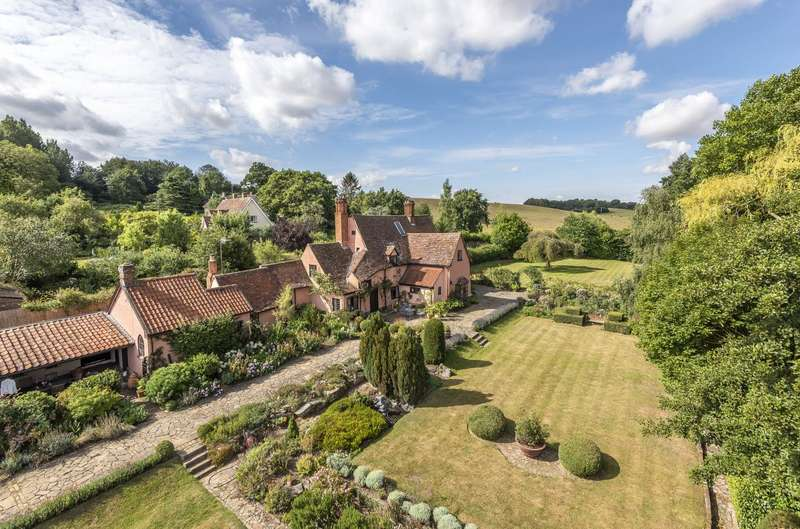 5 Bedrooms Detached House for sale in The Green, Kersey, Ipswich, Suffolk, IP7