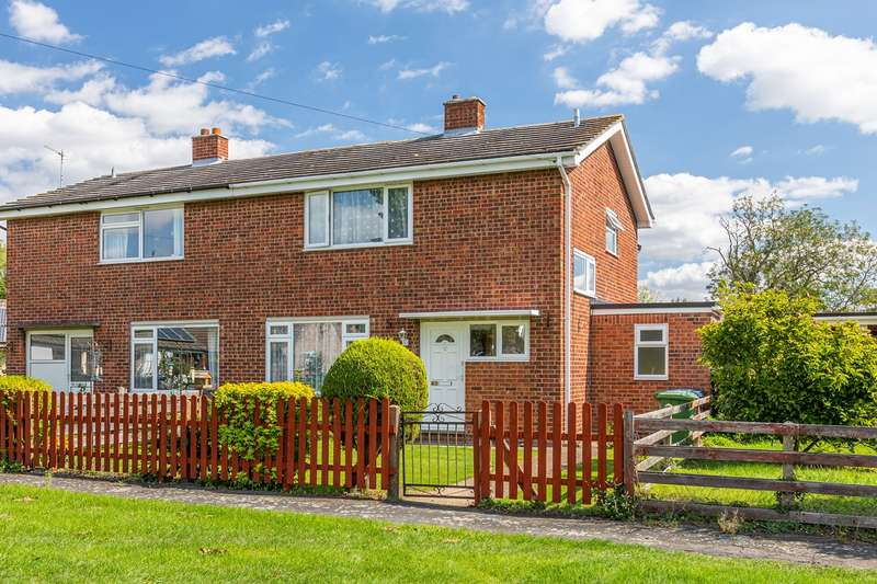 3 Bedrooms Semi Detached House for sale in Meadowcroft Way, Orwell, SG8