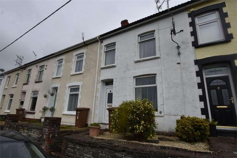 2 Bedrooms Terraced House for sale in Buttery Terrace, Fleur de Lis, Blackwood, Caerphilly