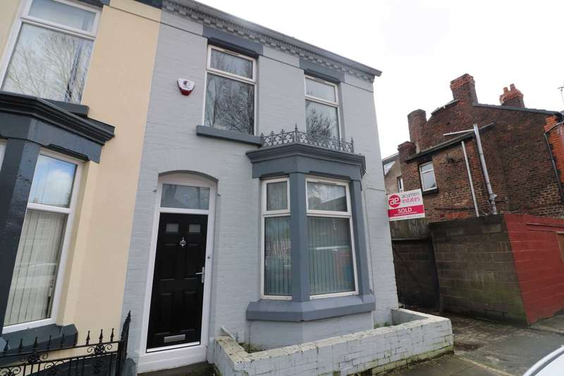 4 Bedrooms Semi Detached House for rent in Phillimore Road, Liverpool