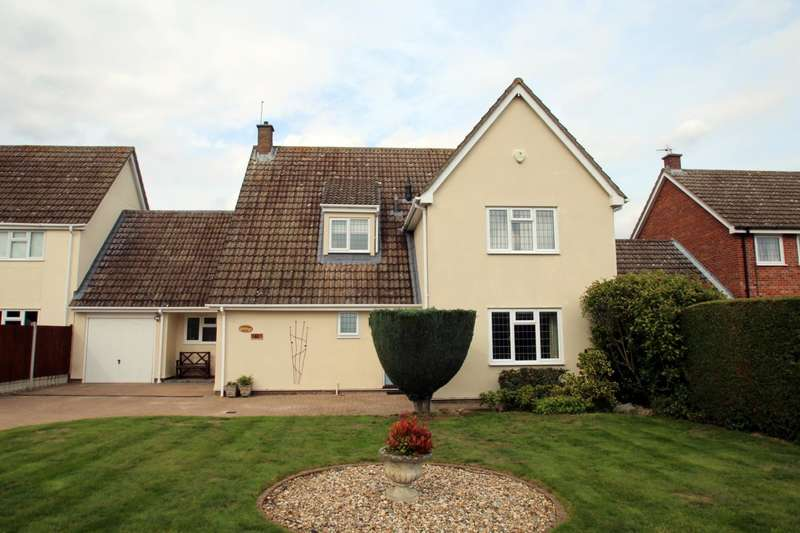 4 Bedrooms Detached House for sale in High Road, Leavenheath