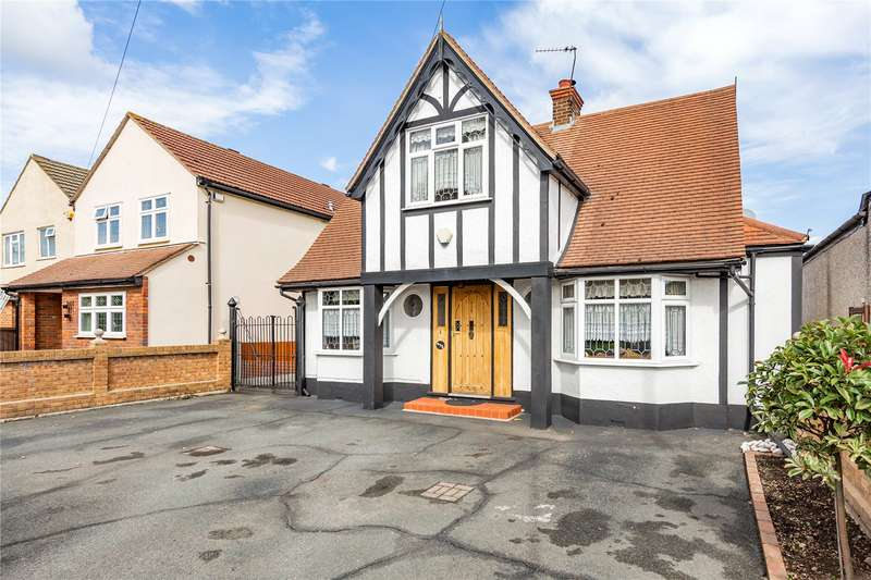 4 Bedrooms Detached House for sale in Upminster Road North, Rainham, RM13