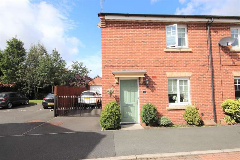 3 Bedrooms Semi Detached House for sale in Redfield Croft, Leigh, WN7 1EN