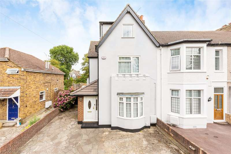 4 Bedrooms End Of Terrace House for sale in Junction Road, Romford, RM1