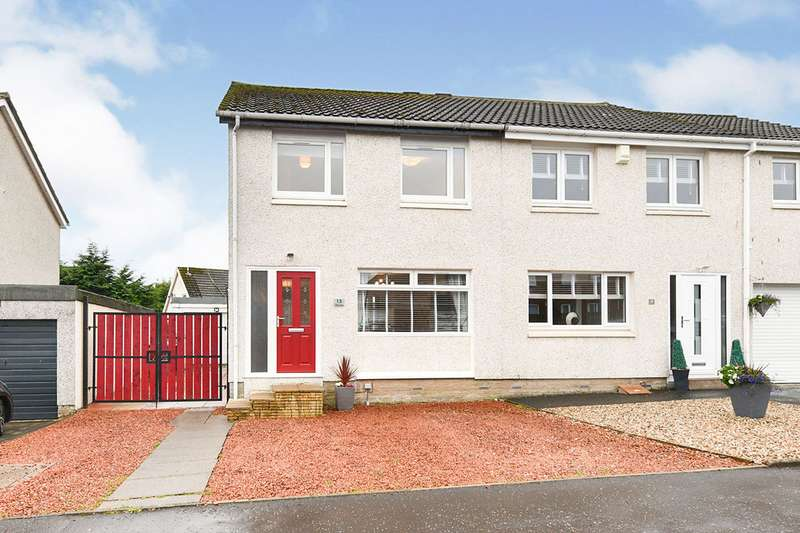 3 Bedrooms Semi Detached House for sale in The Lairs, Blackwood, ML11