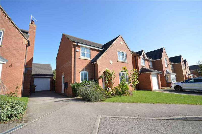 4 Bedrooms Detached House for sale in Newmarket Close, CORBY