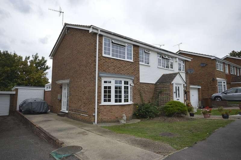 3 Bedrooms Semi Detached House for sale in Herdsdown, Hoo, Rochester, Kent, ME3