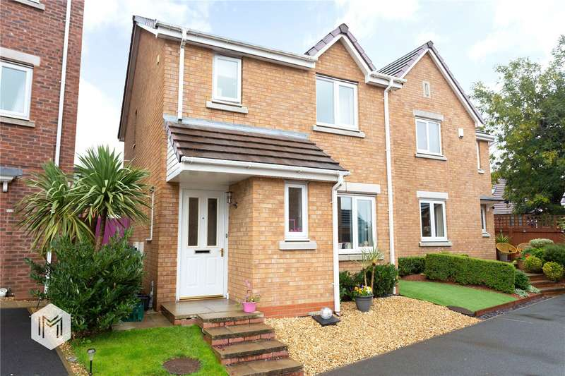 3 Bedrooms Detached House for sale in Harper Fold Close, Radcliffe, Manchester, Greater Manchester, M26