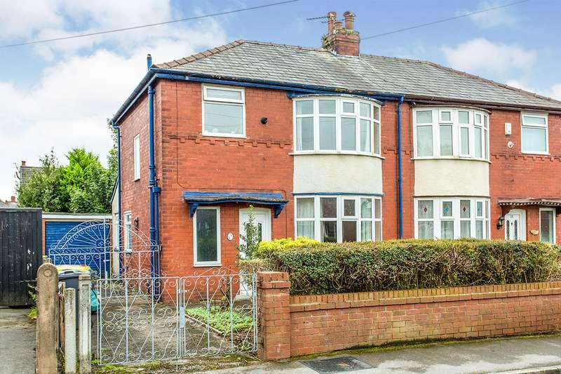 3 Bedrooms Semi Detached House for sale in Elm Avenue, Ashton-on-Ribble, Preston, Lancashire, PR2