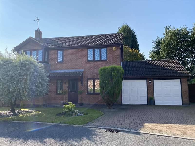 4 Bedrooms Detached House for sale in Kiln Close, West Hallam, Ilkeston
