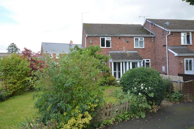 2 Bedrooms End Of Terrace House for sale in Millers Close, Leominster