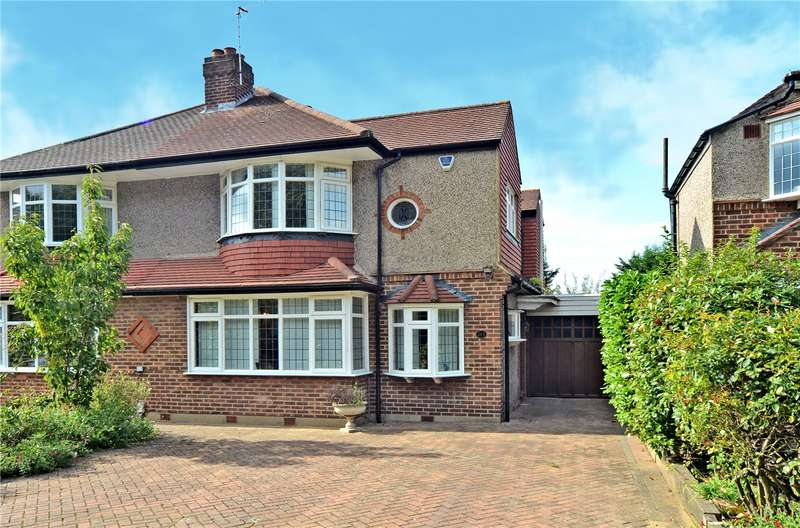 4 Bedrooms Semi Detached House for sale in London Road, Ewell, Epsom, Surrey, KT17
