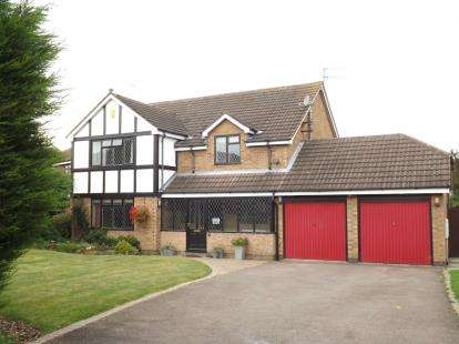 5 Bedrooms Detached House for sale in Worwood Drive, West Bridgford, Nottingham, Nottinghamshire