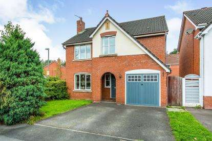 4 Bedrooms Detached House for sale in Heatherleigh, Leyland, Lancashire, .