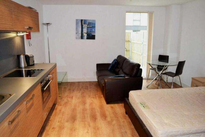 Studio Flat for sale in Vallea Court, Red Bank, Manchester