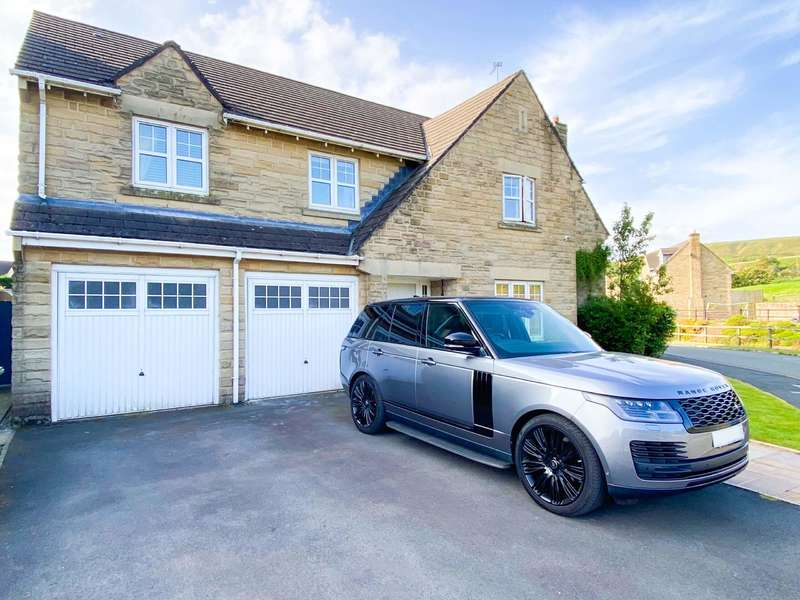 5 Bedrooms Detached House for sale in Penny Lodge Lane, Loveclough, Rossendale