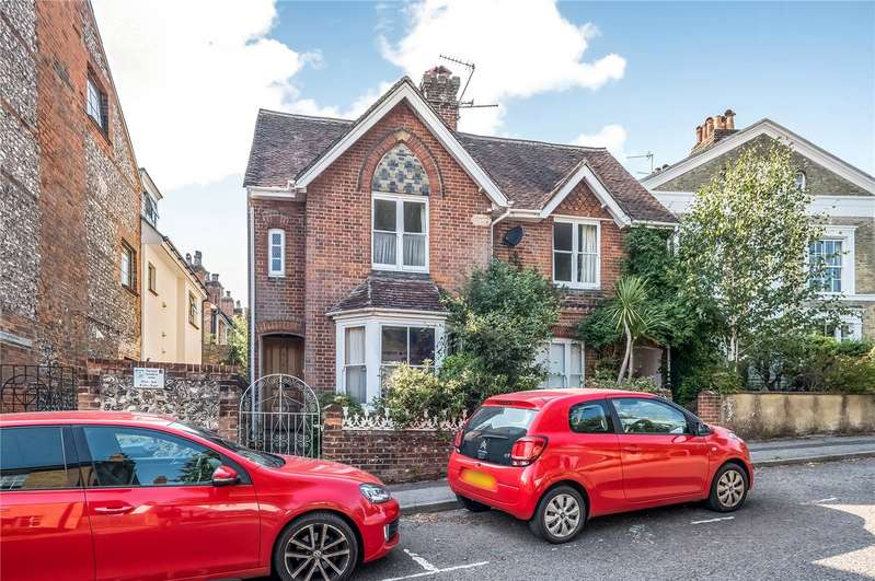 2 Bedrooms Semi Detached House for sale in Clifton Road, Winchester, SO22
