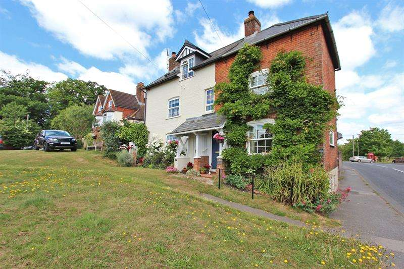 3 Bedrooms Semi Detached House for sale in Romsey Road, Lyndhurst, Hampshire, SO43