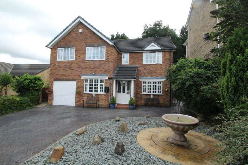 5 Bedrooms Detached House for sale in Simmondley New Road, Glossop, SK13