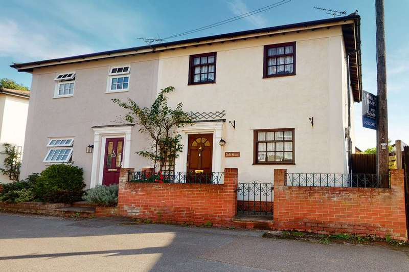 2 Bedrooms Semi Detached House for sale in Queen Street, Coggeshall