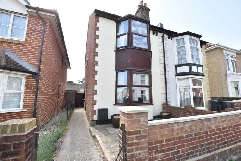3 Bedrooms Semi Detached House for sale in Leesland Road, Gosport