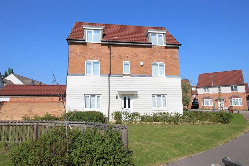 4 Bedrooms Detached House for sale in Sovereign Place, Hatfield, AL9