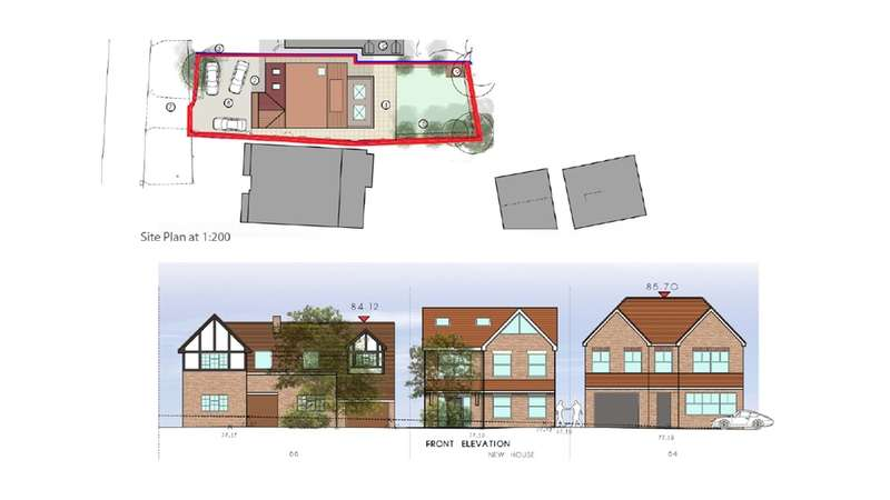 Land Commercial for sale in Tolmers Road, Cuffley, Potters Bar, Hertfordshire