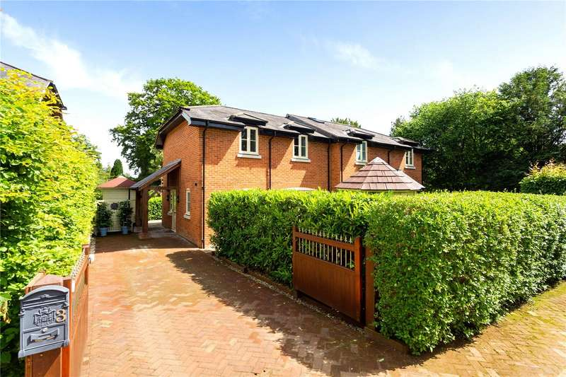 2 Bedrooms Semi Detached House for sale in Martins Close, Compton Street, Compton, Winchester, SO21