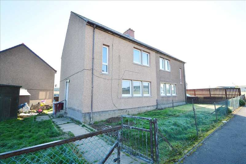 3 Bedrooms Semi Detached House for sale in Whiteside Street, Rigside, Lanark