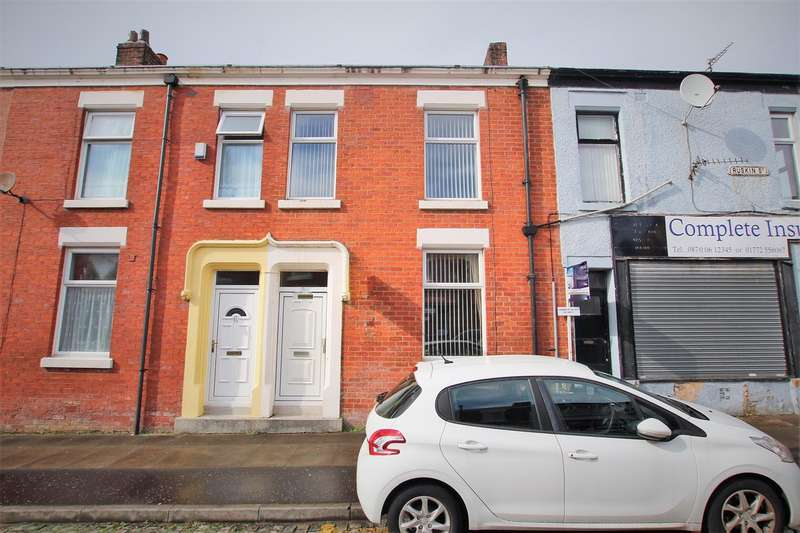 3 Bedrooms Terraced House for sale in Ruskin Street, Preston