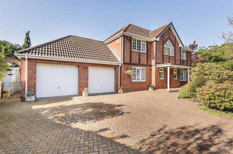 4 Bedrooms Detached House for sale in Lodge Gardens, Great Carlton, Louth, LN11 8JY