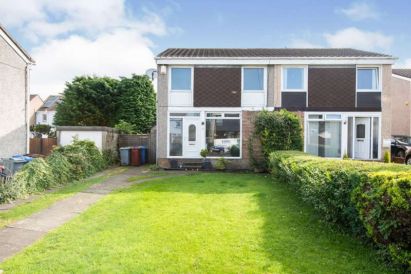 3 Bedrooms Semi Detached House for sale in Rosevale Crescent, Hamilton, South Lanarkshire, ML3